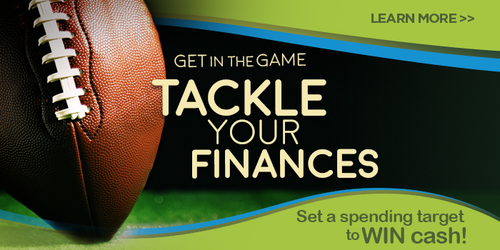 Fall Tackle Your Finances 2017.  Log in to get started now.