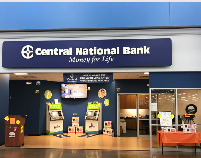 Central National Bank LawrenceWalmart