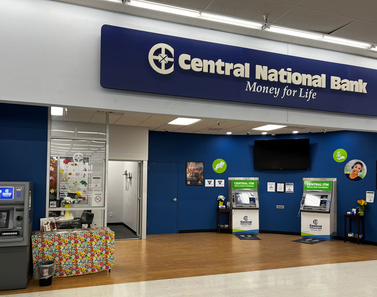 Central National Bank SalinaWalmart