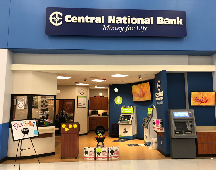 Central National Bank TopekaWalmart