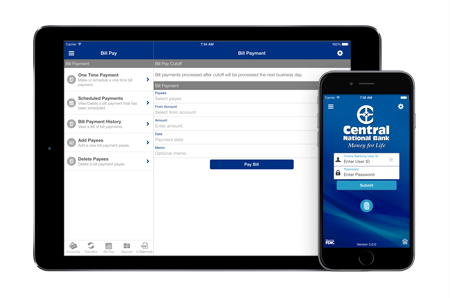 CNB Mobile smartphone app for Apple iOS and Android